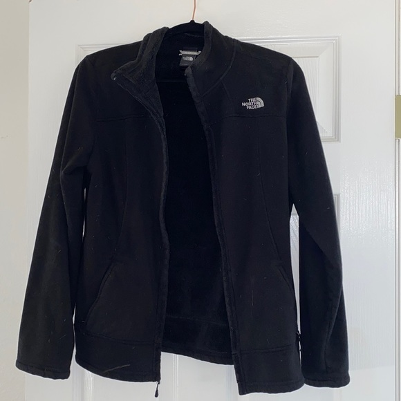 North face SUPER SOFT zip up (like new)